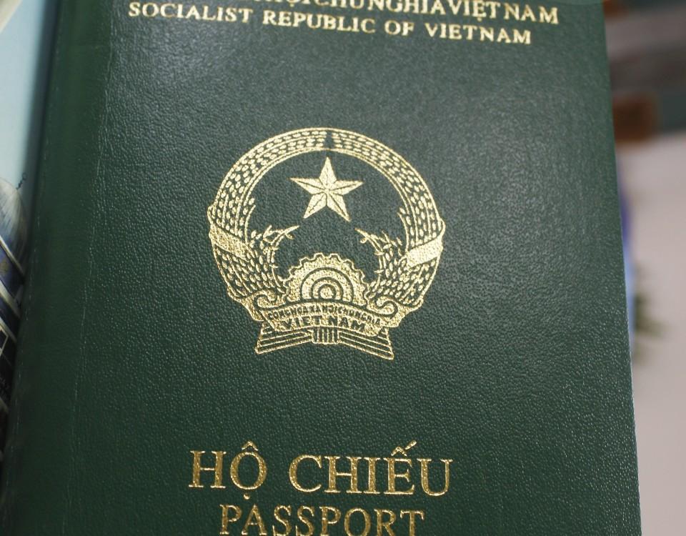 visa và hộ chiếu