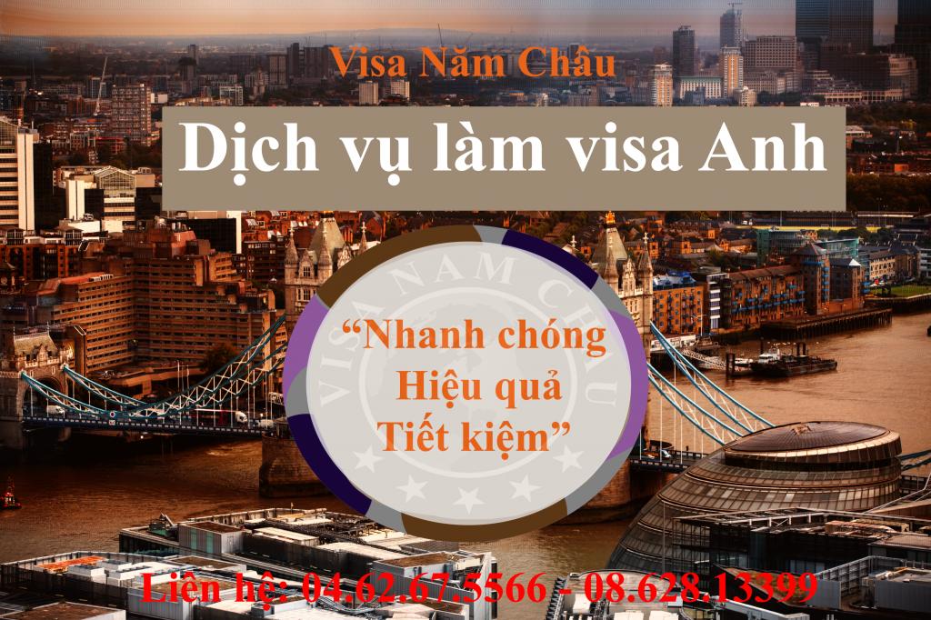 hồ sơ visa Anh